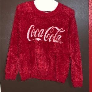 Red fur sweater (coca cola)